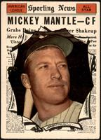 High # - Mickey Mantle [VG]