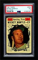 High # - Mickey Mantle [PSA 3 VG]