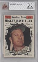 Mickey Mantle [BVG 3.5 VERY GOOD+]