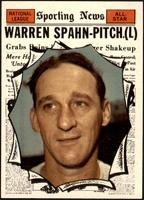 High # - Warren Spahn [NM MT]