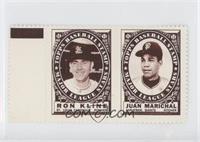 Ron Kline, Juan Marichal