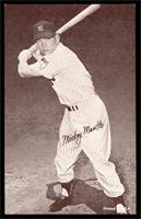 Mickey Mantle (Black Back) [EX]