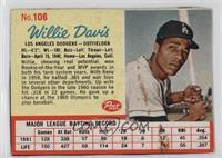 Willie Davis [Authentic]