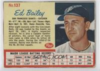 Ed Bailey [Good to VG‑EX]