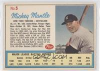 Mickey Mantle (Post logo on back) [GoodtoVG‑EX]