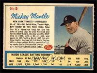 Mickey Mantle (Post logo on back) [EXMT]