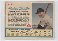 Mickey Mantle (Post logo on back) [Good to VG‑EX]