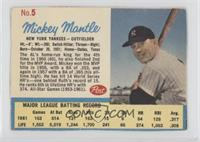 Mickey Mantle (Post logo on back) [Authentic]