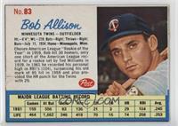 Bob Allison [GoodtoVG‑EX]