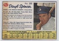 Daryl Spencer [GoodtoVG‑EX]