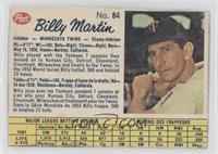 Billy Martin [Authentic]