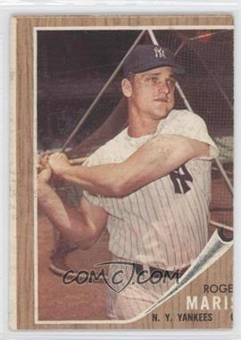 1962 Topps - [Base] #1 - Roger Maris [Good to VG‑EX]