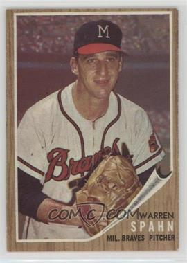 1962 Topps - [Base] #100 - Warren Spahn