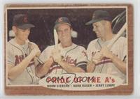 Pride of the A's (Norm Siebern, Hank Bauer, Jerry Lumpe) [Poor]