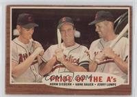 Pride of the A's (Norm Siebern, Hank Bauer, Jerry Lumpe) [GoodtoVG&…