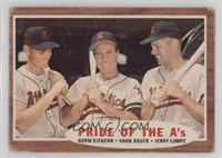 Pride of the A's (Norm Siebern, Hank Bauer, Jerry Lumpe) [PoortoFai…