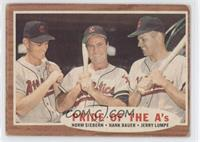 Pride of the A's (Norm Siebern, Hank Bauer, Jerry Lumpe)