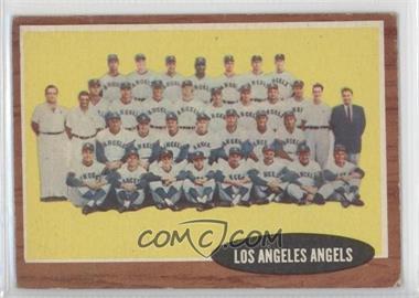 1962 Topps - [Base] #132.1 - Los Angeles Angels Team