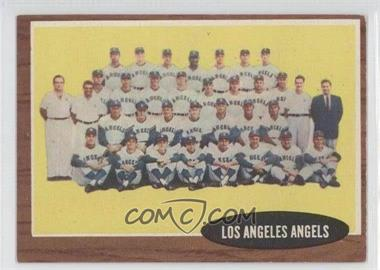 1962 Topps - [Base] #132.1 - Los Angeles Angels Team