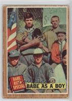 Babe as a Boy (Babe Ruth) (Green Tint) [PoortoFair]