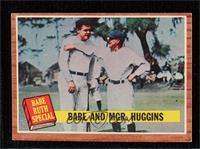 Babe and Mgr. Huggins (Babe Ruth) [PoortoFair]