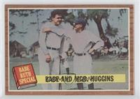 Babe and Mgr. Huggins (Babe Ruth)