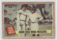 Babe and Mgr. Huggins (Babe Ruth, Miller Huggins) (Green Tint) [Good to&nb…