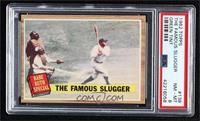 The Famous Slugger (Babe Ruth) (Green Tint) [PSA8NM‑MT]