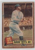 Babe Hits 60 (Babe Ruth) (No Pole) [PoortoFair]