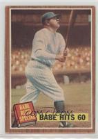 Babe Hits 60 (Babe Ruth) (No Pole) [GoodtoVG‑EX]