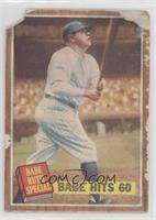 Babe Hits 60 (Babe Ruth) [PoortoFair]