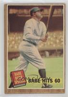 Babe Hits 60 (Babe Ruth) (Green Tint)
