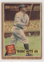 Babe Hits 60 (Babe Ruth) (Green Tint) [PoortoFair]