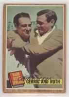 Babe Ruth Special (Lou Gehrig, Babe Ruth) (Green Tint) [GoodtoVG…