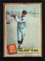 Twilight Years (Babe Ruth) (Green Tint) [Good to VG‑EX]