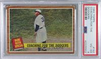 Coaching for the Dodgers (Babe Ruth) [PSA4VG‑EX]