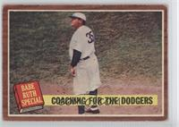 Coaching for the Dodgers (Babe Ruth) [GoodtoVG‑EX]