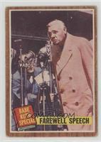 Farewell Speech (Babe Ruth) [PoortoFair]