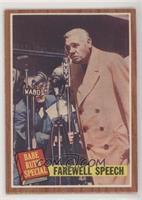 Farewell Speech (Babe Ruth)