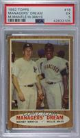 Managers' Dream (Mickey Mantle, Willie Mays) [PSA5EX]