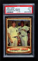 Managers' Dream (Mickey Mantle, Willie Mays) [PSA 3.5 VG+]