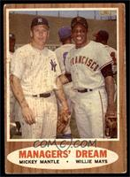 Managers' Dream (Mickey Mantle, Willie Mays) [VG EX]