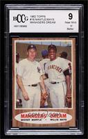 Managers' Dream (Mickey Mantle, Willie Mays) [BCCG Near Mint]