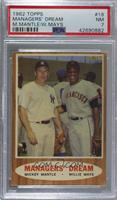 Managers' Dream (Mickey Mantle, Willie Mays) [PSA 7 NM]