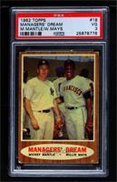 Managers' Dream (Mickey Mantle, Willie Mays) [PSA 3 VG]