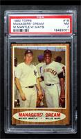 Willie Mays, Mickey Mantle (Elston Howard; John Roseboro and Hank Aaron in the …