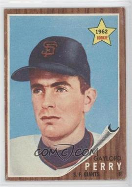 1962 Topps - [Base] #199 - Gaylord Perry