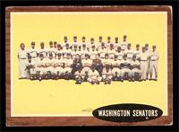 Washington Senators Team [VG]
