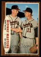 Midway Masters (Frank Bolling, Roy McMillan) [NM]