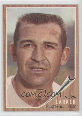 1962 Topps - [Base] #23 - Norm Larker
